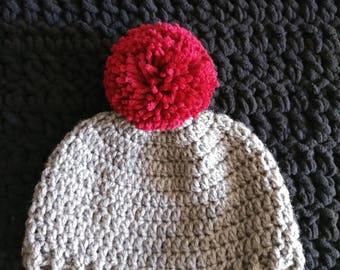 Crochet Toddler Beanie