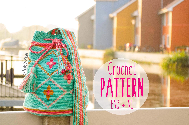 Pattern Crochet FlowersEtsy Bag With Mochila CxQrtshd