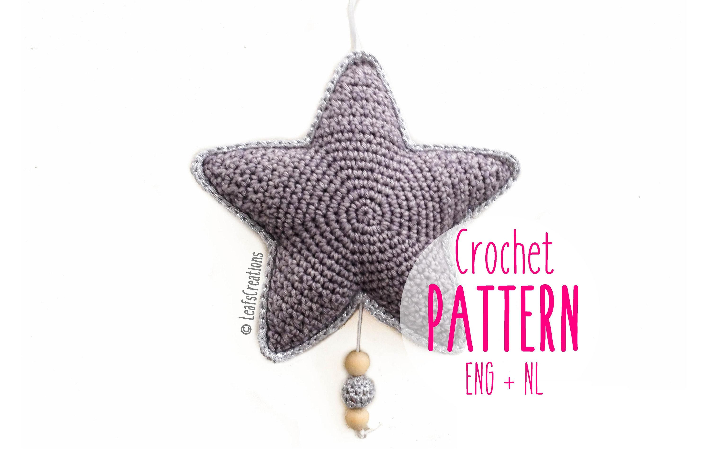 Crochet Pattern Music Box Star Tutorial Music Box Star Etsy