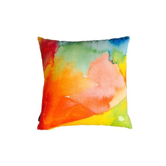 Pangea Pillow Cover By Rochelle Porter Throw Pillow Home Etsy