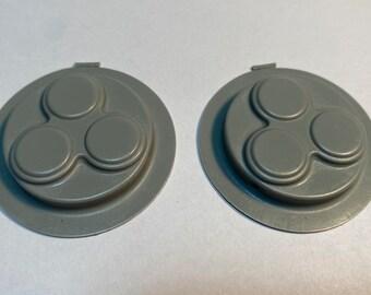 Star Wars Medical Scanner Thermostat- 3 Node Thermostat for ESB Hoth Medical Scanner Snowtrooper Ab (2 piece Set)