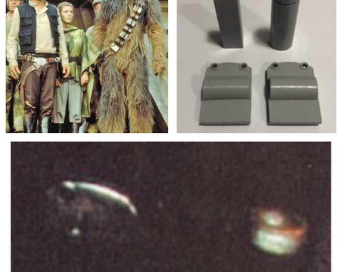 New for 2018! Han Solo Costume Star Wars Return of the Jedi (ROTJ) Screen Accurate Belt Accessory Set - Greeblies Kit