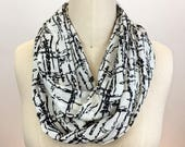 Black and white printed s...