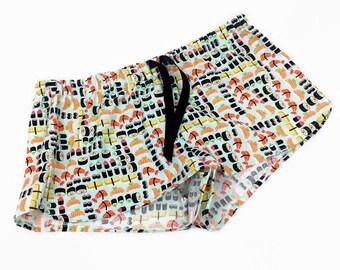 992632ea4c15 Sushi pajama shorts