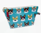 Corgi cosmetic bag, water...