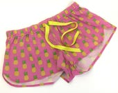 Pineapple pajama shorts, ...