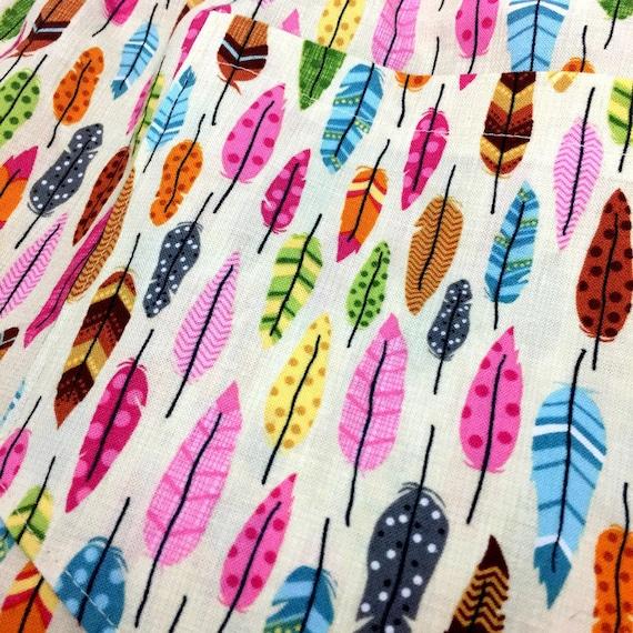 e00f206073 feather pajama shorts feather print pajama pants