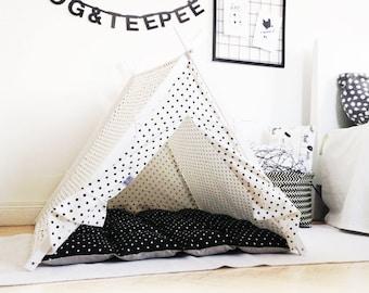 Black&white dog bed (Large size)