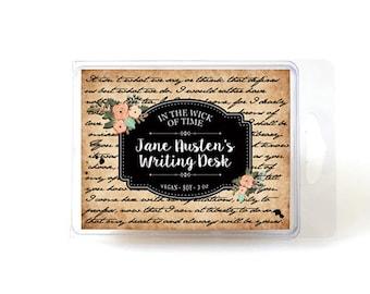 Jane Austen's Writing Desk | Soy Vegan Wax Tart Melts |