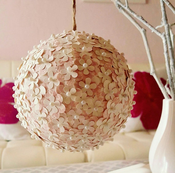 Assortment Of Paper Flower Pomander Balls Etsy