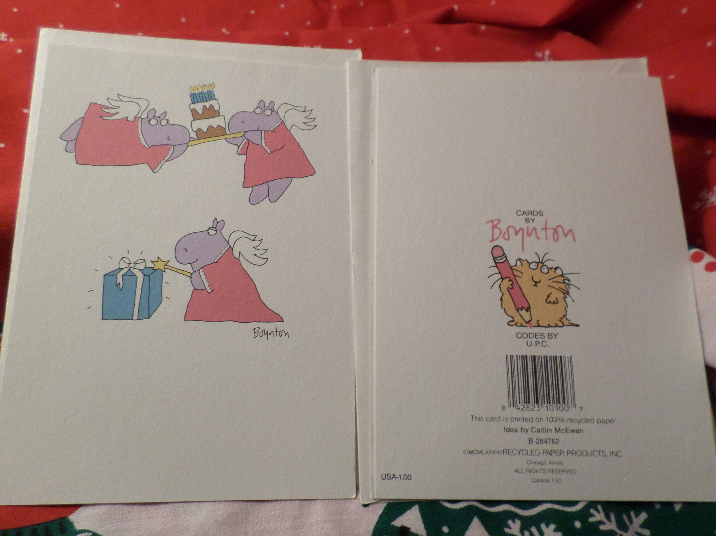 Vintage Sandra Boynton Greeting Card Have A Fairy Fairy Fairy Etsy