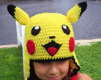 Oui Crochet: Pikachu Hat and Tail {Free Crochet Pattern} | 270x340