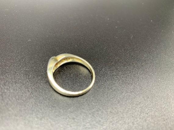 Looped Ruby *** Handmade Ruby Ring Sterling Silve… - image 7