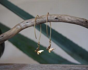 Cute Earrings with butterflies