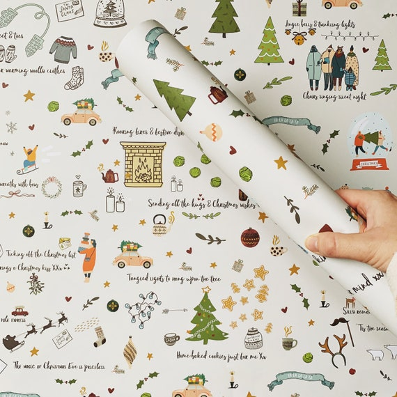 Things we love about Christmas Recycled Wrapping Paper