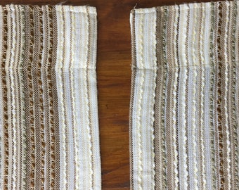 1970s Wool Weave Curtains