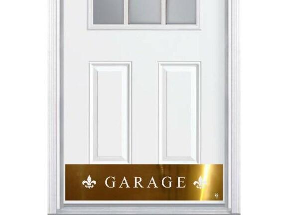 Door Kick Plate Engraved Garage Luxury Kickplate Etsy