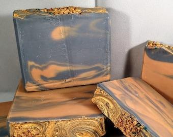 Three Kings frankincense and myrrh handmade soap