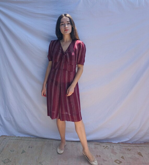 1940s Dustbowl Day Dress