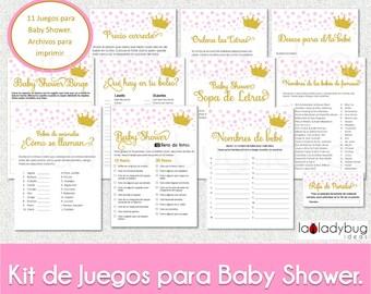 Baby Shower De Nina Etsy