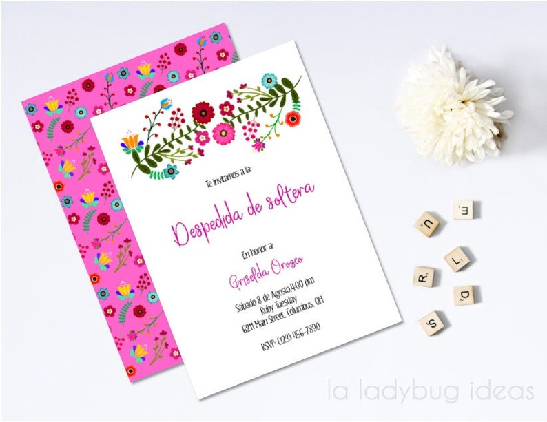 d1a674c9d6dd Mexican embroidery inspired bridal shower invitation
