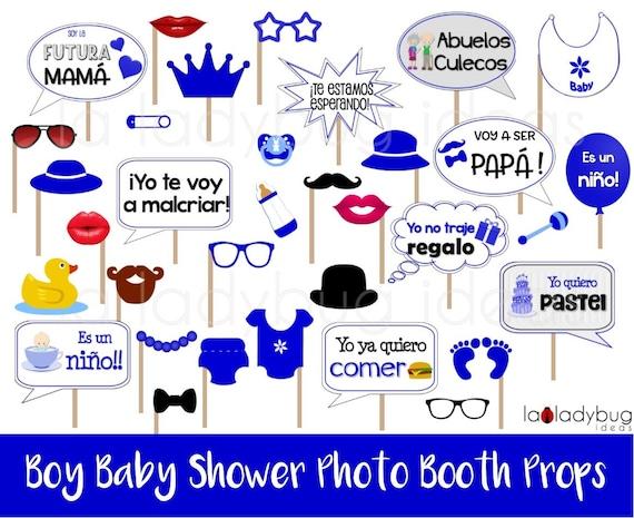 Letreros Para Fotos De Baby Shower Nino Archivo Para Imprimir Etsy