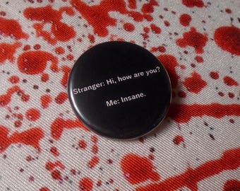Mid-Day Humor Pin - Funny Button Pin