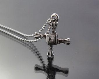 St Brigid's Celtic Cross Pendant, USA Quality Made, Free, Shipping, Rhode Island Manufacturer
