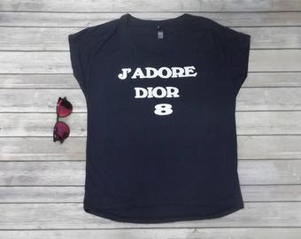 ed3d6cb1 J' Adore Dior T-shirt Print All sizes and Color 100% cotton