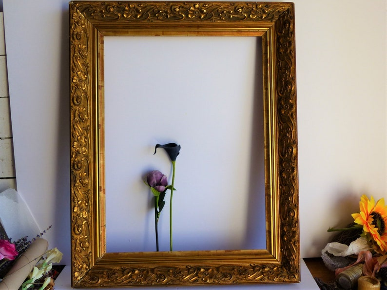 French Antique Gold Wooden Frame