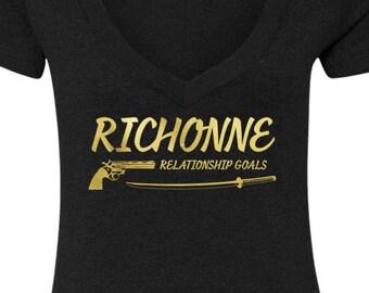 The Walking Dead Richonne T-Shirt