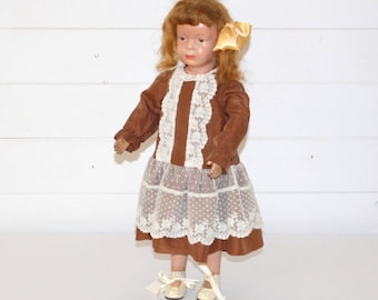 "Antique A. Schoenhut Doll 16"" Original United States"