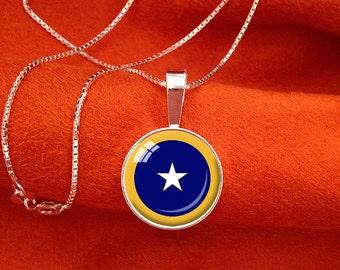 SPIRITUAL EYE Sterling Silver Pendant Yoga Jewelry SRF Kriya Yoga Pendant 16mm Chakra Pendant 6th Chakra