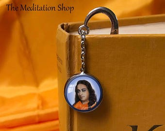 YOGANANDA BOOKMARK Sri Yukteswar Lahiri Mahasaya Babaji Spiritual Eye Bookmark Paramahansa Yogananda Gift for Yogi Self Realization Kriya