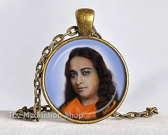 Yogananda Pendant Paramahansa Yogananda Jewelry Srf Guru Etsy