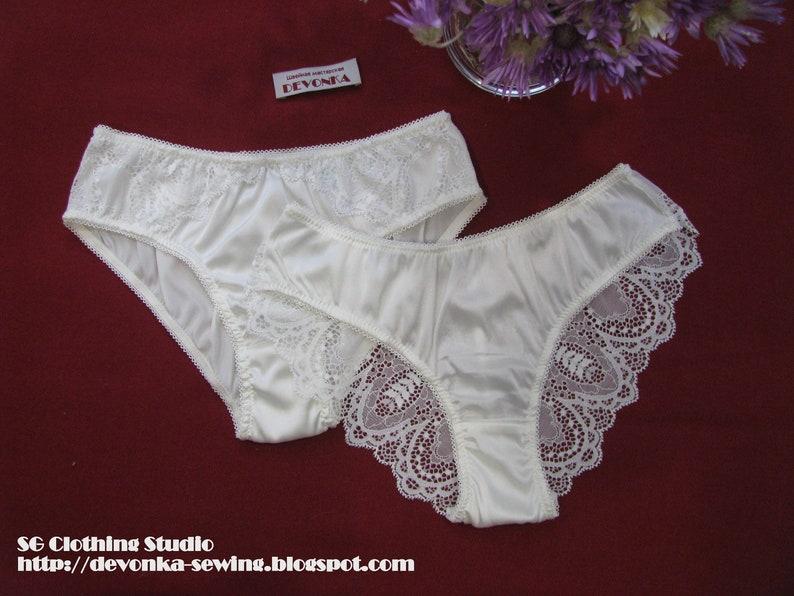 773eca3ce51 Silk panties Set of 2 panties Silk lingerie Sexy panties Silk