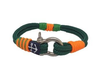 Arabelle Nautical Bracelet by Bran Marion | Handmade in Ireland | Unisex Bracelet | schackel armband | Schnur Armband