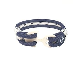 Orrin Nautical bracelet - Shackle bracelet - Nautical jewelry rope - Waterproof