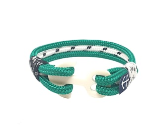 Moe Nautical bracelet - Shackle bracelet - Nautical jewelry rope - Waterproof