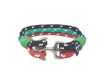Proteus Nautical bracelet - Shackle bracelet - Nautical jewelry rope - Waterproof