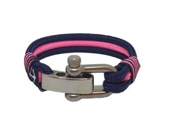 Nautilus Bracelet by Bran Marion | Beach Bracelet | bracelet nautique | pulsera hombre | Schäkel Armband