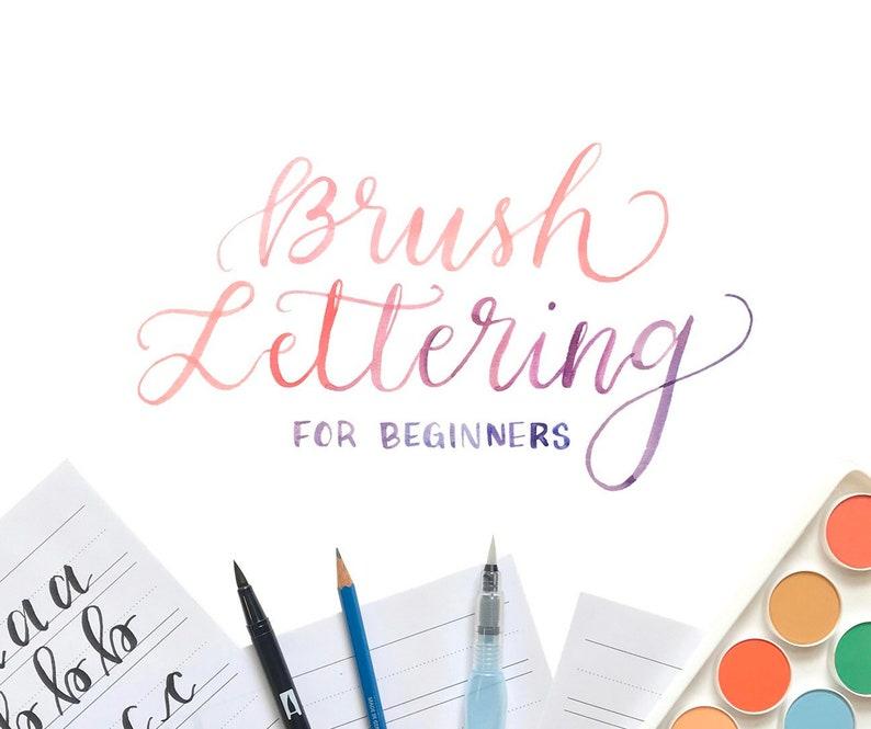 Calligraphy Kit Brush Lettering for Beginners Kit image 0