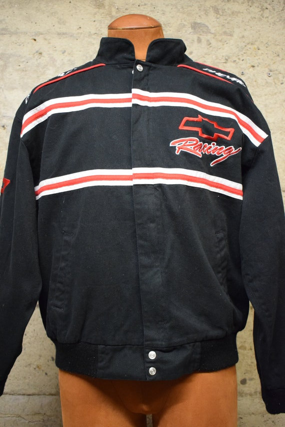 Vintage Chevy Racing jacket Essex All-Over Print