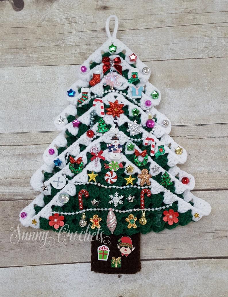 Albero Di Natale Uncinetto Albero Di Natale Regali Di Etsy