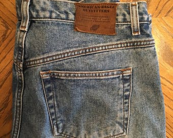 Vintage american eagle jeans high waisted size 12R