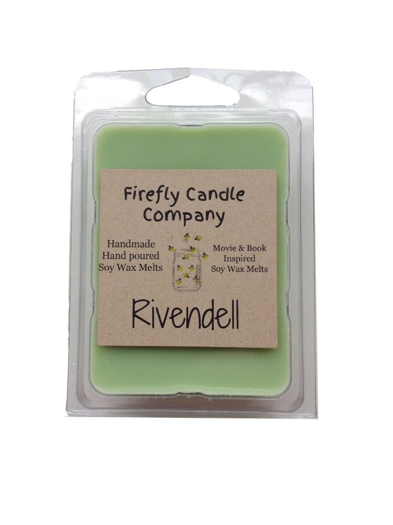 Rivendell Soy Wax Melts Soy Wax Tarts The Shire Lord of the Rings inspired Candles The Hobbit inspired Candles Book inspired candles