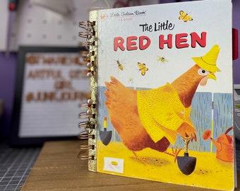 Handmade Little Golden Book Junk Journal