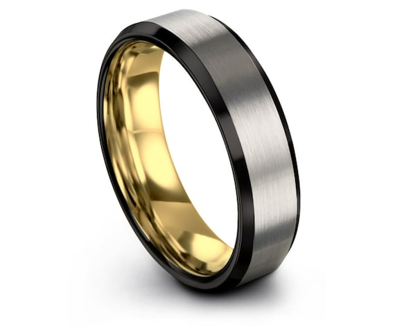 Brushed Tungsten Wedding Band Men,Silver Tungsten Ring 8mm,Tungsten Carbide Ring,Personalized Ring,Unique Ring,Promise Ring For Him