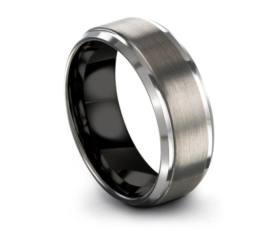 Promise Ring for Men and Women | Tungsten Wedding Band | His & Hers Jewelry | Rings for Men | Rings for Women