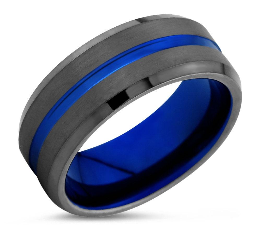 1: Wedding Band Gunmetal Blue At Websimilar.org